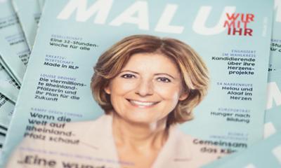 Das Malu-Magazin ist da