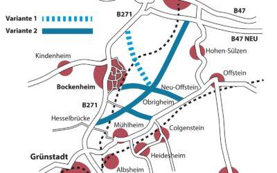 """Ergebnis der Machbarkeitsstudie von 2016 – warum Bockenheim keine Umgehung """"braucht"""""""